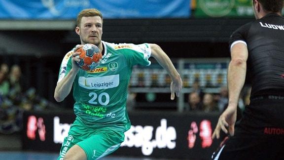 Philipp WEBER 20, SC DHfK Leipzig