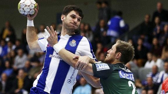 SC Magdeburg gegen Porto