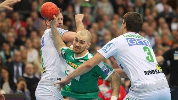 Maximilian Janke am Ball