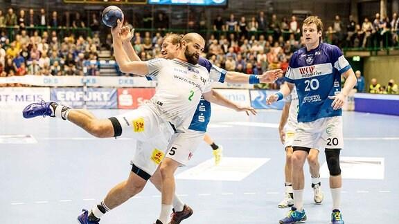 Bergischer HC gegen den SC Magdeburg