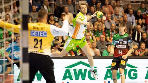 Kristian Bjornsen in der Luft