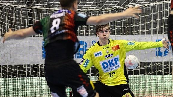 Torwart Tobias Thulin, SC Magdeburg