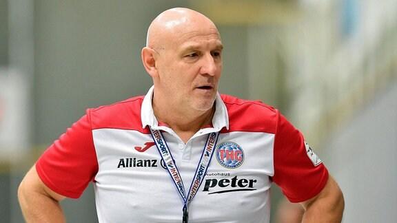 Herbert Mueller Trainer Thueringer HC