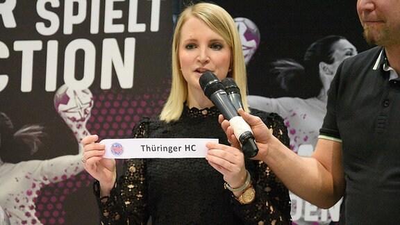 Auslosung: Final4 im Pokal mit DHB-Pressesprecherin Nadine Doering