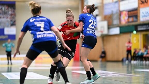Handball I 1. HBF I Buxtehuder SV - SV Union Halle-Neustadt