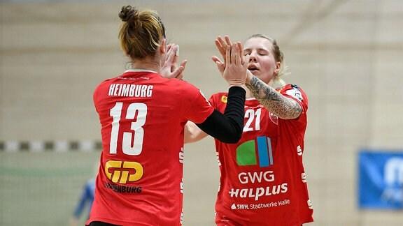 Swantje Heimburg und Sophie Luetke