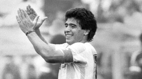 Weltmeisterschaft 1986 in Mexiko: Diego Maradona
