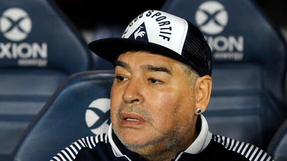 Maradona im Porträt