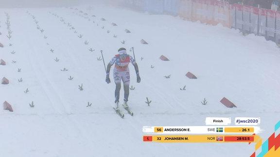 JWM 2020 - Skilanglauf 10 Km - U23 Frauen - Zusammenfassung RSS