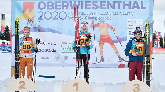 Top 3 Frauen - Fossesholm, Lohmnann, Marcisz