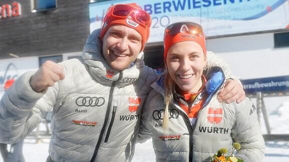 Lisa Lohmann und Maxim Cervinka