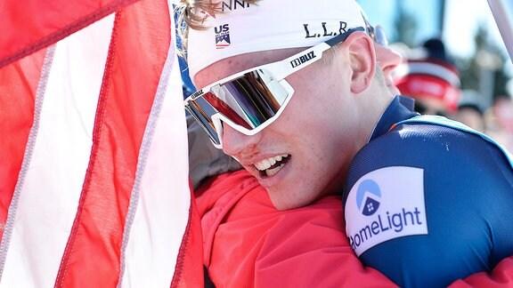 Gus Schumacher - Jubel