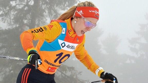 Lisa Lohmann (Deutschland/Oberhof) beim Langlauf-Sprint U20