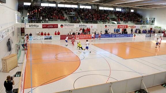 22. Thüringer Hallen Fussball Masters Erfurt 10.01.16
