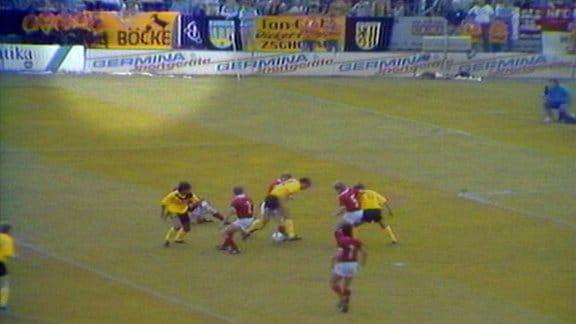 Zaunfahnen Oberliga