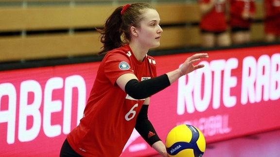 Corina Glaab von den Roten Raben Vilsbiburg