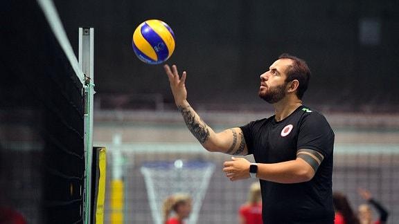 Co-Trainer Konstantin Bitter - Dresdner SC