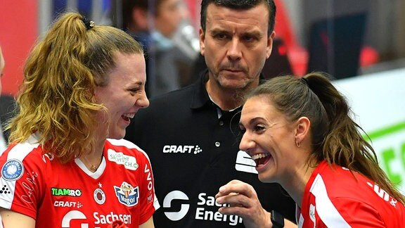 Maja Storck, Alexander Waibl und Lena Stigrot