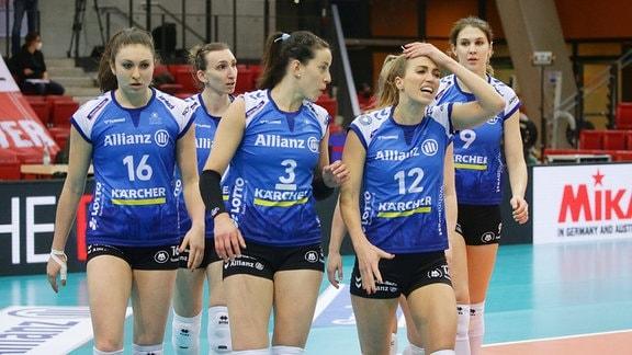 von links: Michaela Mlejnkova / Maria Segura Palleres / Athina Papafotiou ( Stuttgart )
