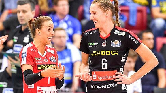 Lenka Dürr und Kadie Rolfzen