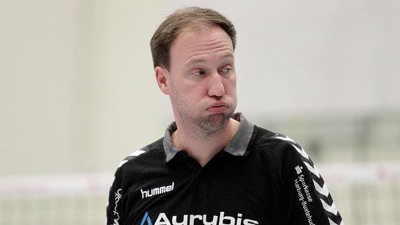 Trainer Dirk Sauermann