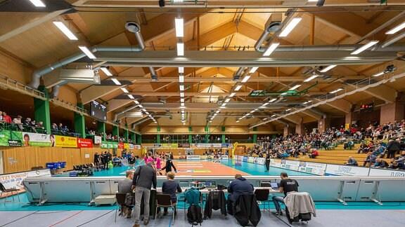 Sporthalle Wolfsgrube in Suhl