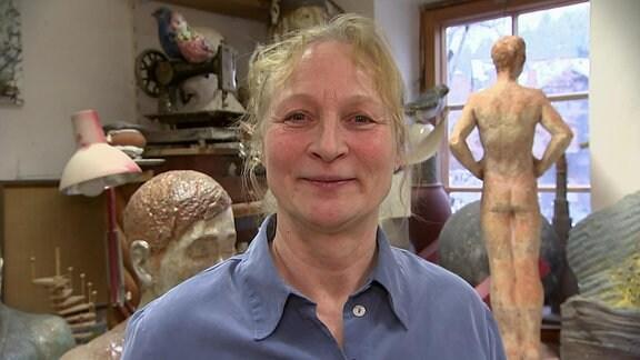 Bildhauerin Silvia Bohlen