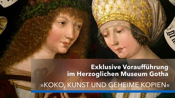 """Werbung zur Preview des Films """"KoKo, Kunst und geheime Kopien"""""""