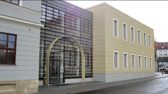 das Friede-Springer-Haus ist Neubau der Stadtbibliothek Gotha