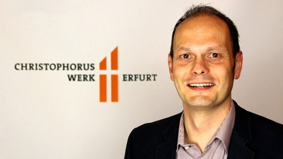 Andreas Otto vom Christophoruswerk Erfurt.