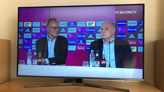 Karl Heinz Rummenigge und Uli Hoeness