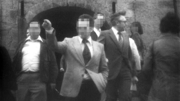 Stasi-Fotos Bernhard Vogel in der DDR