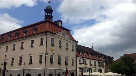 Das Rathaus von Bad Salzungen