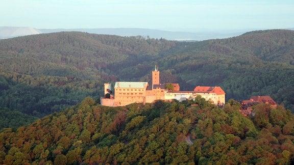 Die Wartburg bei Eisenach im Mai 2015