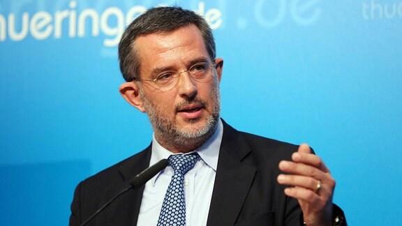 Thüringens Verfassungsschutz-Präsident Stephan Kramer