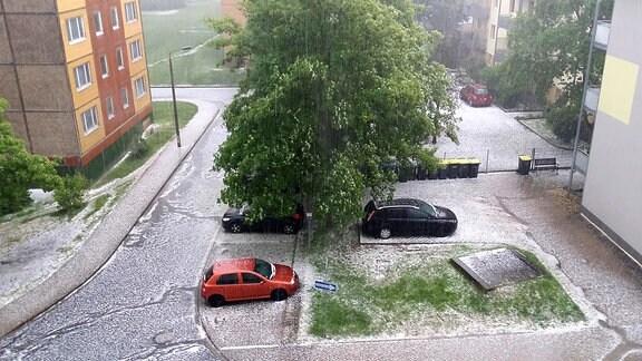 Himmelfahrtsunwetter in Sondershausen