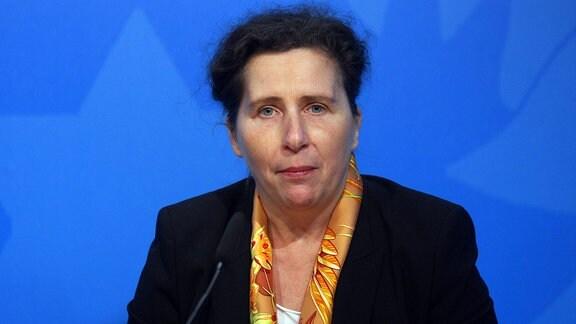 Ines Feierabend, Staatssekretärin im Thüringer Ministerium für Arbeit, Soziales, Gesundheit, Frauen und Familie