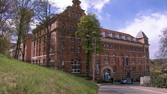 Das Thüringer Innenministerium in Erfurt.
