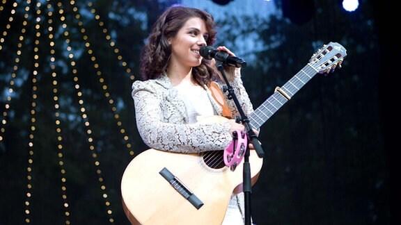 Katie Melua bei ihrem Konzert in Leipzig 2019