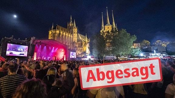 Krämerbrückenfest abgesagt