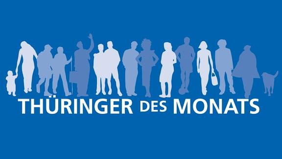 Logo Thüringer des Monats TdM