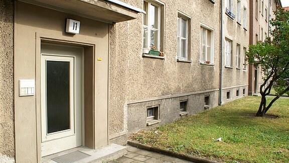 Wohnhaus von Peter Fechter in Berlin-Weissensee