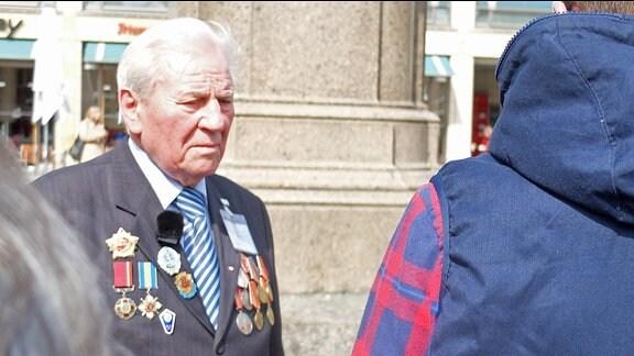 Afanasij Storozhuk aus der Ukraine.