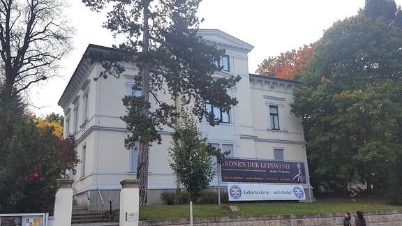Außenansicht des Kunsthaus-Gebäudes in Apolda