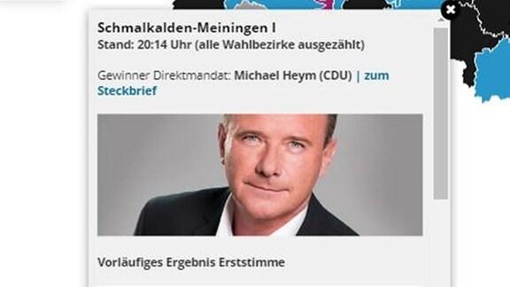 Michael Heym von der CDU