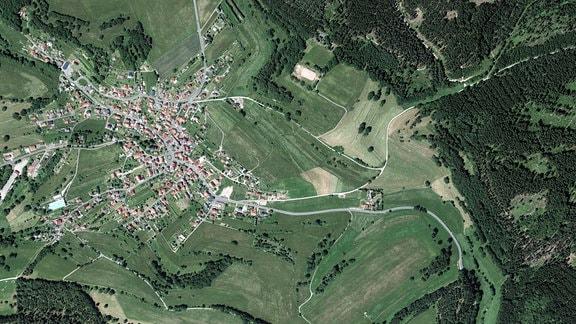 Luftbildaufnahme von Christes