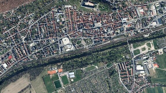 Luftbild Rudolsstadt
