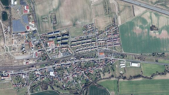 Luftbild Sollstedt