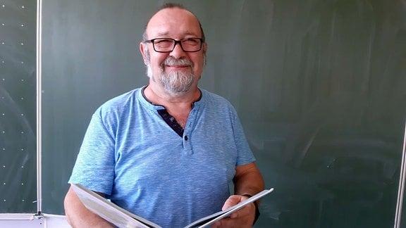 Frank Friebel unterrichtet im Weimarer Land