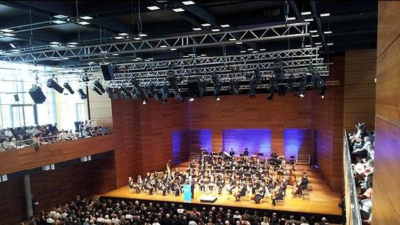 Benefizkonzert Bundespräsident Gauck Weimarhalle Weimar